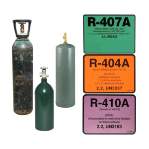 Refrigerant and Gas Refill